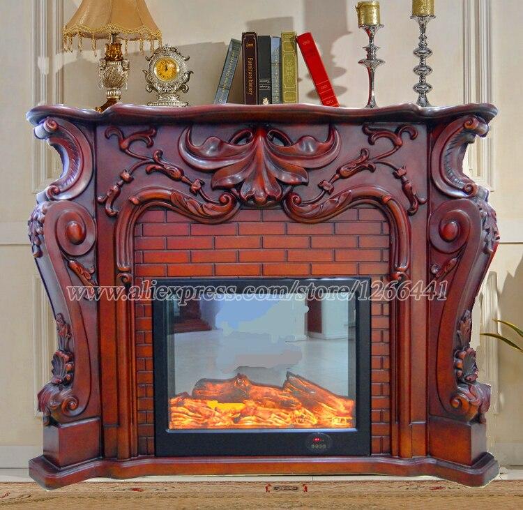 Compra chimeneas de madera tallada online al por mayor de - Mejor madera para chimenea ...