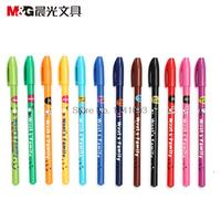 2017 36 pcs/lot 0.38 Gel ink pen M&G AGP61702 standard RollerBall pen office and school stationery wholesale Free Shipping