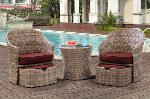 Factory Direct Sale Outdoor Garden Furniture Sofa Lounge 5 Piece Wicker Patio  Chat Set In Garden Sets From Furniture On Aliexpress.com | Alibaba Group