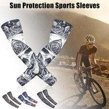 Viscose Sun Protection Sleeves Anti-UV Cool Body Arts Tattoo And Comfortable For Riding Fishing Outdoor Sports