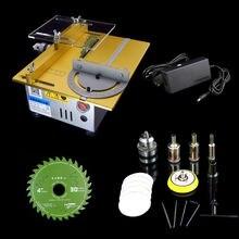 Miniature DC 24V 7000RPM Precision Cutting Mini Saw Bench Table Saw