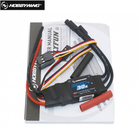 Hobbywing FlyFun V5 30A 40A 60A 80A 100A Brushless Speed Controller ESC w/2 6S Lipo SBEC for helicopter and RC Multicopter