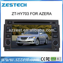ZESTECH Car DVD for Hyundai Azera car DVD GPS navi headunit 3G/WIFI Internet 20 V-cdc 1G CPU F Hyundai azera 2007-2011