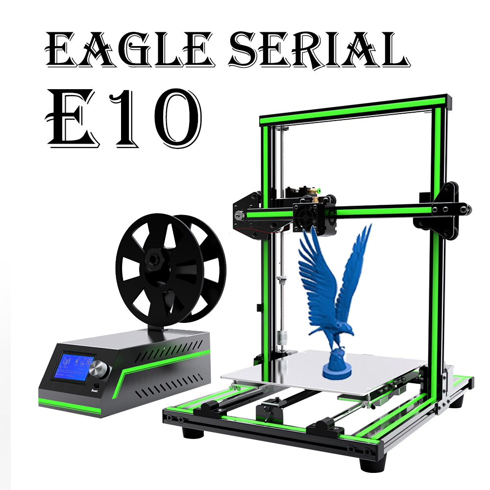 2019 Anet E10 E12 E16 Eagle Serial 3D Printer with 300*300*400mm Large Printing Size Impresora 3D Pr
