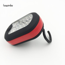 Coquimbo 5 Colors 24/3 LEDs Falshlight Portable 2 Modes Magnetic Camping Tent Lantern Light Lamp With Hook Used 3xAAA Battery