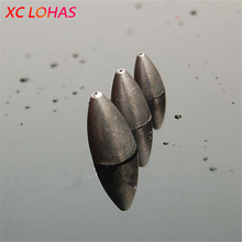 10 Pcs / Pack Fishing Lead 3 / 5 / 7 g Sinker Weights Bullet Sinker Weight River Lake Sea Boat Competition Fishing Tackle