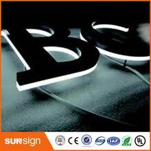 Best sell 3d led  backlit channel letter sign