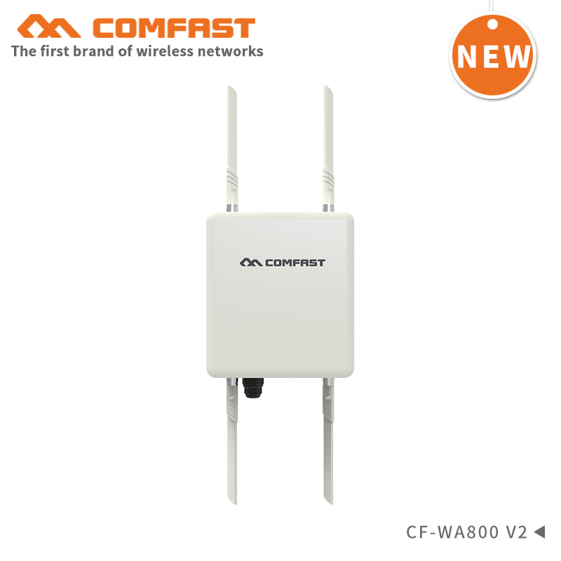Wireless Outdoor AP CPE Bridge 1200Mbps WIFI Antenna WIFI Extender 360 Degree Omnidirectional Coverage Wifi Base Station Routers