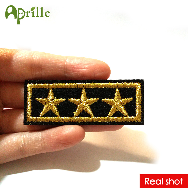 Aliexpress.com : Buy 20pcs five star gold strip of clothes ...