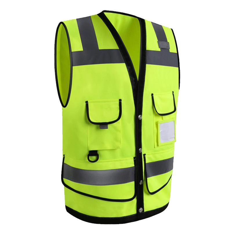 Image 2 - Hi vis yellow Safety vests reflective waistcoatsafety vest reflectivesafety vestyellow safety vest -