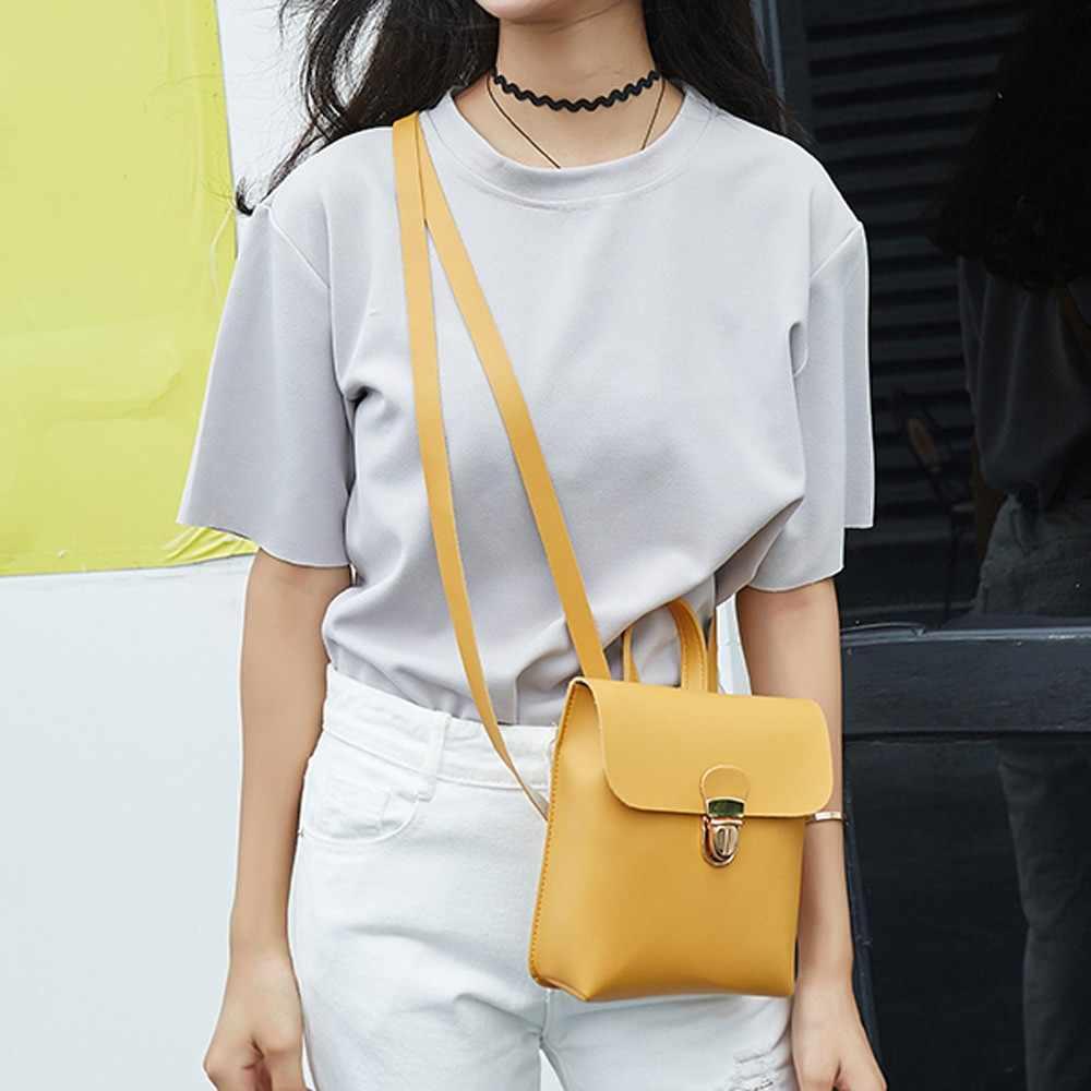 Удобная модная дорожная женская сумка через плечо, кошелек для монет, сумка для мобильного телефона, рюкзак Canta