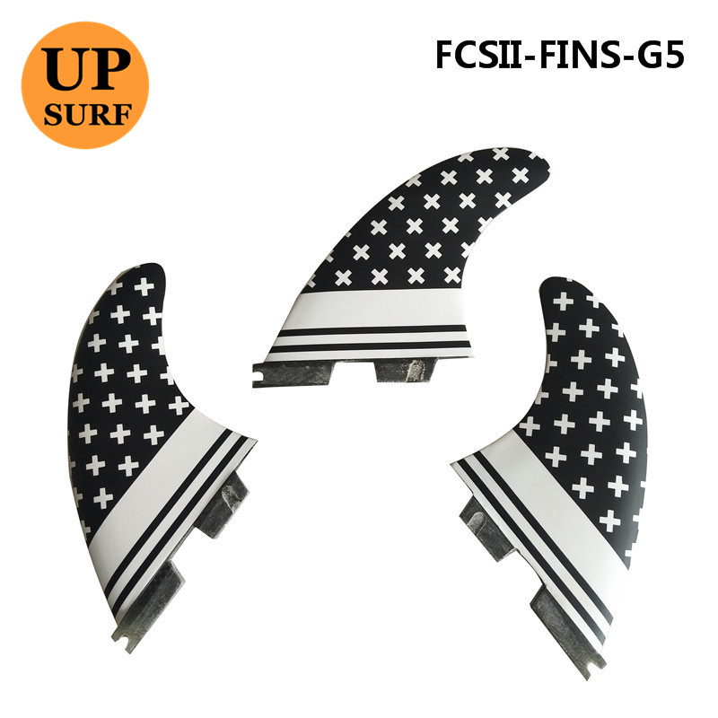 FCS II Surf Fins FCS2 G5 M Size Surfboard Honeycomb Fins Tri fin set fcs fin