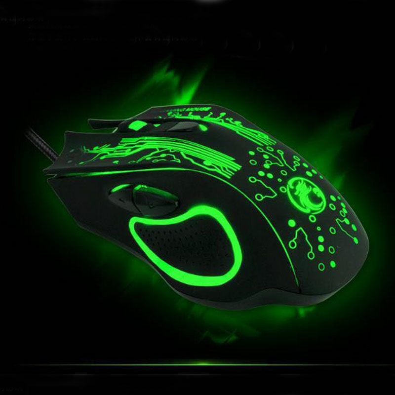 New 2016 iMICE-ESTONE X9 5000DPI LED Optical 6D USB Wired game Gaming Mouse For PC computer Laptop perfect upgrade combine