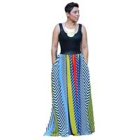 New design New Bohemian Women Summer Dress Stripe Print Patchwork Slim pack hip party Dresses