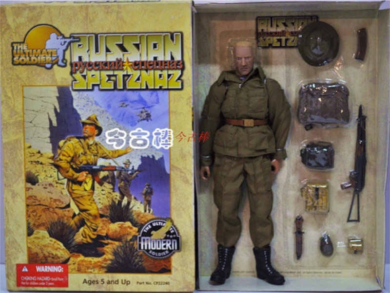 1/6 Scale Soldier Specia Force Model Set for 12inch Russia Soviet Union <font><b>Afghanistan</b></font> action figure toys image