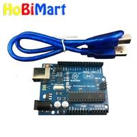 HoBiMart Smart Electronics UNO R3 Mega328P ATMEGA16U2 Development Board With USB Cable For Arduino Diy Starter