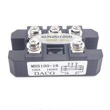MDS100A 3 фазы диодный мост выпрямителя 100A Amp 1600V MDS100-16 MDS100A1600V MDS100A 1600V