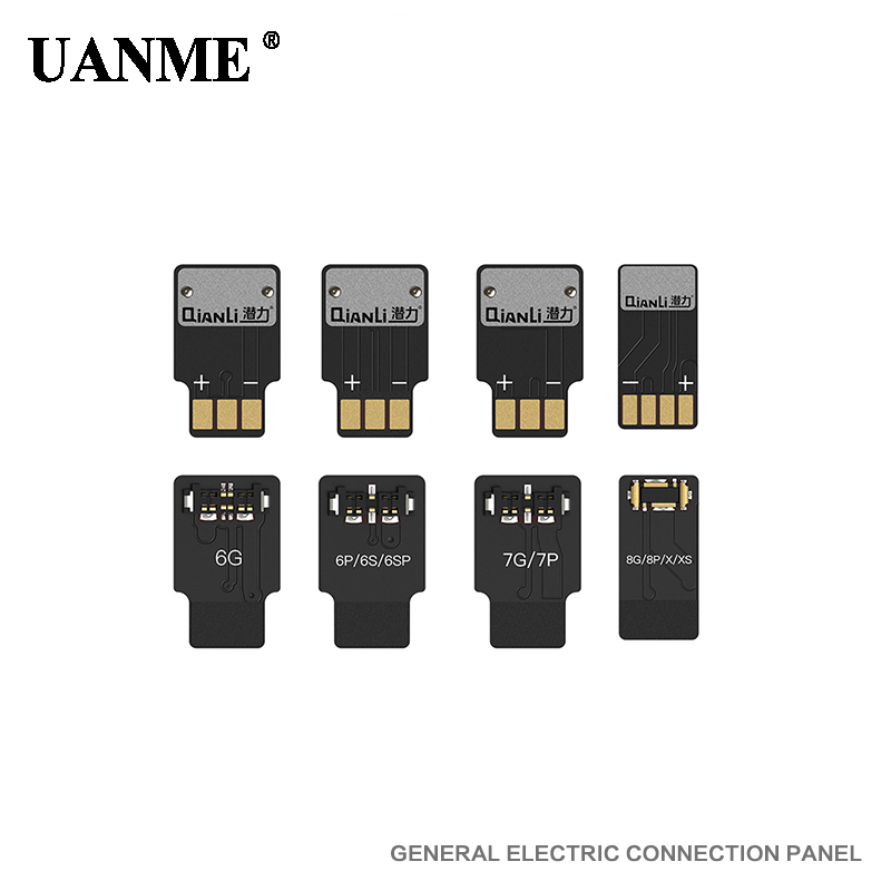 UANME Battery Connecting Plate 6 6p 6S 6sp 7 7p 8 8p X XS repair power cord buckle 4pcs/1package