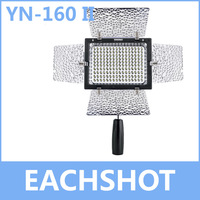 Yongnuo YN 160 II, LED Video Light Lamp for Canon 650D 5D Mark II 6D 7D 60D 600D 550D + Free Shipping with Tracking Number