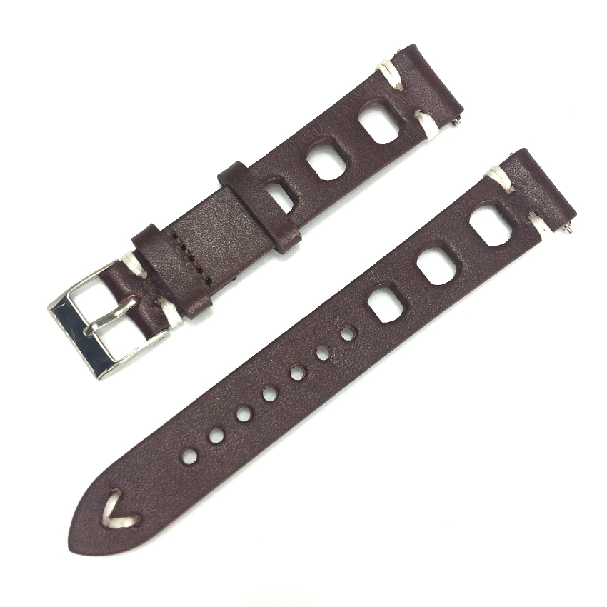 Vintage Watch Strap Genuine Leather Watchband Bands Bracelet Replacement for Watches Men Watch Belts 18mm 20mm 22mm 24 mm KZ3H06