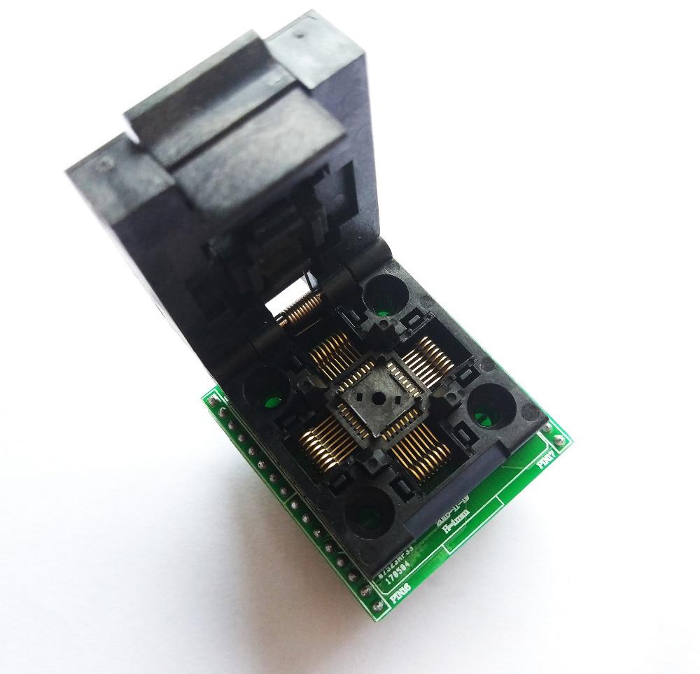 Trasporto libero programmatore Universale TQFP32 QFP32 LQFP32 PER DIP32 adattatore presa TL866II PLUS programmatoreTrasporto libero programmatore Universale TQFP32 QFP32 LQFP32 PER DIP32 adattatore presa TL866II PLUS programmatore
