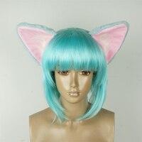 Athemis Sword Art Online Asada Shino Kedi kulakları Saç hoop