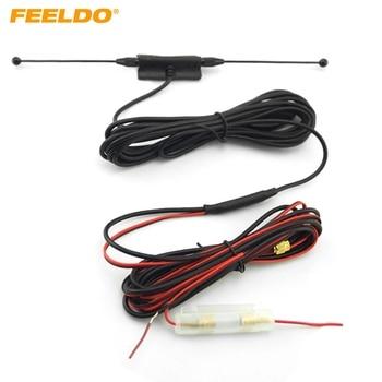 FEELDO 5Set SMA Connector Active antenna with built-in amplifier for digital TV