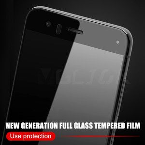 Image 4 - Protective Glass On For Xiaomi Mi 6 6X Mi 5 5S 5C 5X 5S Plus Tempered Screen Protector For Xiaomi Mi A1 Note 3 Full Cover Glass