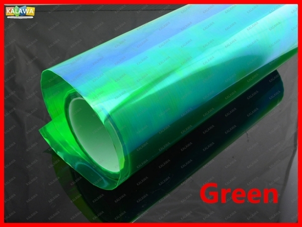0.3M*9M Transparent Color Change HeadLight Taillight Tint Vinyl Film ...