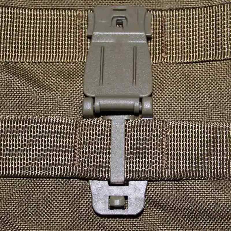 Sıcak Satış 1 ADET Açık Dokuma Kayış Toka Klip Bağlamak MOLLE Askeri Çanta Sırt Çantası