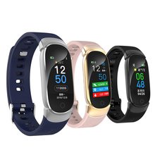 Multi-sports mode Heart Rate Monitor Smart Band QW16 Smart Bracelet Color Screen Blood Pressure Fitness Tracker  for Android IOS k07 plus color screen smart wristband sports bracelet heart rate blood pressure oxygen fitness tracker mi band 2 for ios android