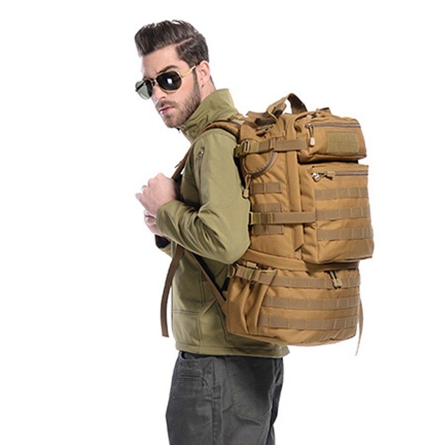 50L sac à dos en plein air Molle militaire sac à dos tactique Mochila militaire sac à dos imperméable Camping randonnée sac à dos pour voyage - 6