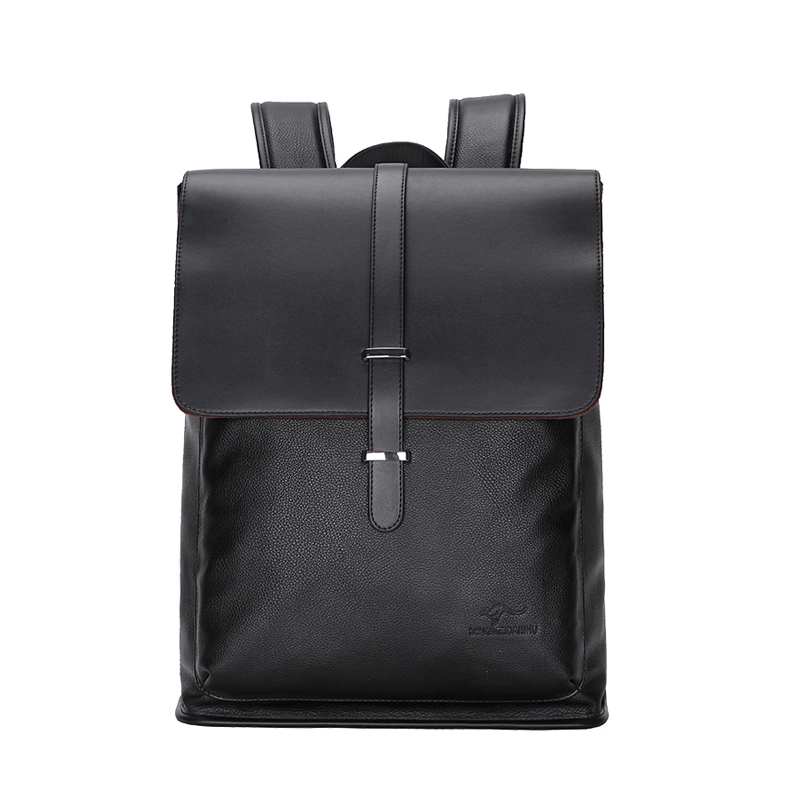 New Fashion Genuine Leather Backpacks High Quality Real Leather Male Korean Student Backpack Boy Business Laptop Bag 16 Inch