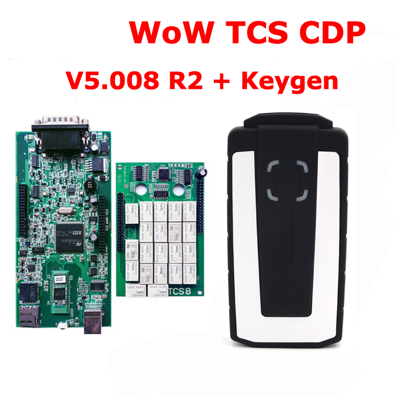 WoW TCS CDP With Bluetooth V5.008 R2 Keygen TCS CDP Pro OBD2 Scan Tool For Cars And Trucks Diagnostic Tool 10 pcs newest design 2017 v2014 2 multidiag pro no bluetooth for cars trucks and obd2 scanner tcs cdp plus keygen dhl free