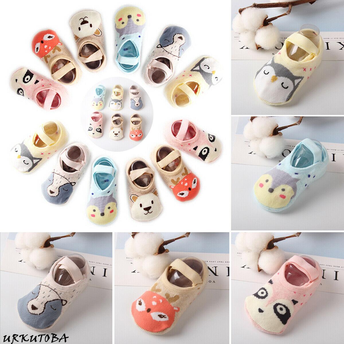 Stetig Mode Kleinkind Socke Schuh Weiche Baby Neuheit Nette Cartoon Non-skid Slipper Anti-slip Infant Mädchen/junge Baumwolle Infant Boot Socken Um 50 Prozent Reduziert