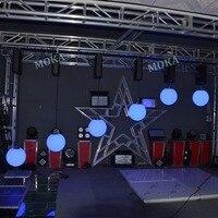 4 Pcs/lot full color Stage Kinetic light led magic ball RGB DMX led lift ball led effect light for party/culb/bar/wedding