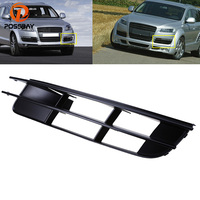 1pcs High Quality Front Left Bumper Lower Turn Signal Fog Light Cover Grille Grill For Audi