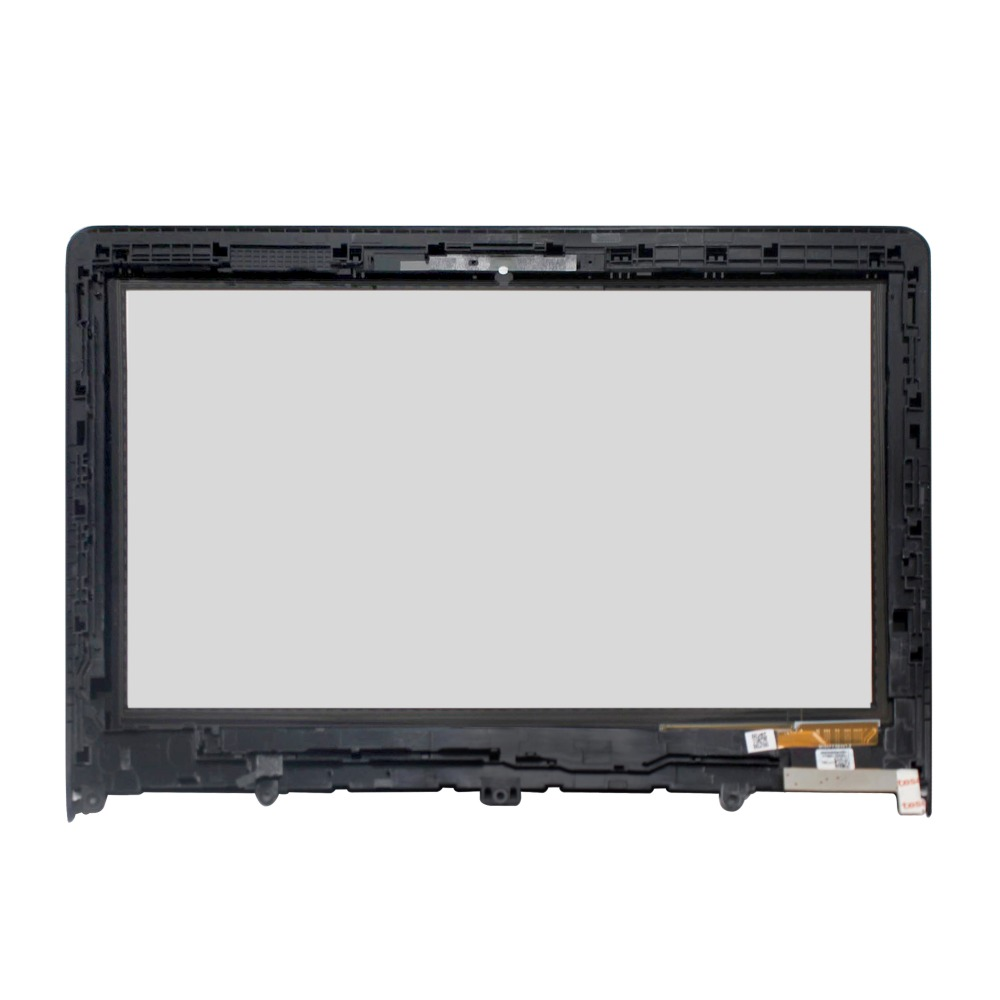 For Lenovo Yoga 300-11 Yoga 300-11IBR YOGA 300-11IBY 80M0007QGE 11.6 NEW LCD Screen Touch Digitizer Assembly With Bezel 14led lcd touch screen digi assembly with bezel for lenovo 500 14ibd yoga 500 14ihw 500 14isk 80n4 80n5 80r5 1366x768 1920x1080