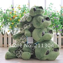 Free Shipping 1piece retail big eyes turtoise stuffed animals plush Toy doll 4 sizes for choose kids friends christmas gifts