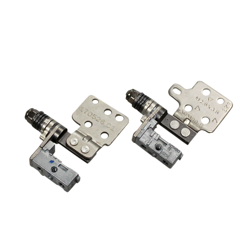L&R LCD Hinges Set Screen Axis Sharft For Dell Latitude E5570 5570 Laptop Non-touch