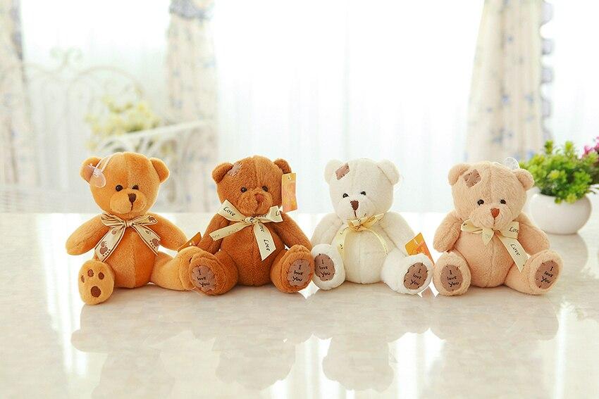 20cm Patch Bear Dolls Teddy Bear Soft Toy Bear Wedding Gifts Baby Toy Birthday Gift Brinquedos Soft Toys