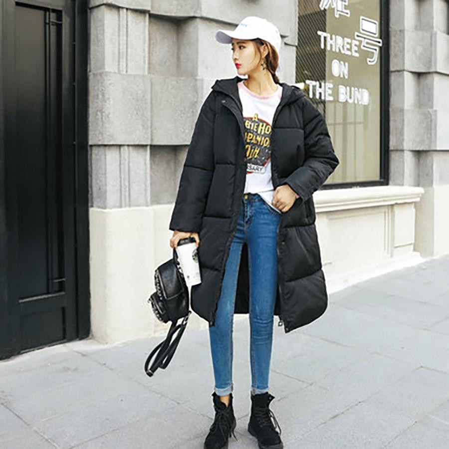 Femmes Giubbotti Z5c779 Style Lâche Invernali Manteau Parka Vêtements D'hiver Coréenne Harajuku Épaissir Black Donna Damska wqpzXZnX