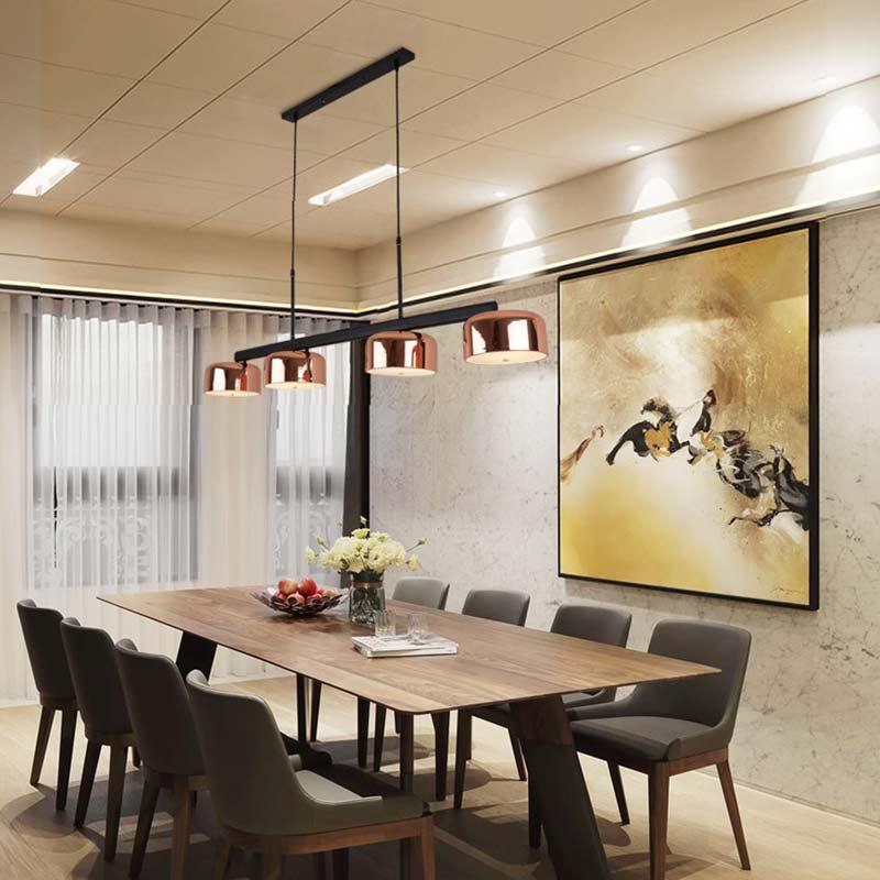 BLUBBLE 120 cm/140 cm 4 pcs Abat-Jour Pendentif Lumières 110-240 v Cordon Droplight Café Villa Hanglamp nordique Originalité Pendentif Lampe