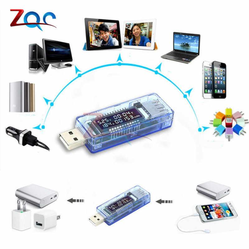 USB chargeur Doctor tension compteur de courant voltmètre ampèremètre temps de travail puissance batterie testeur de capacité outils de mesure