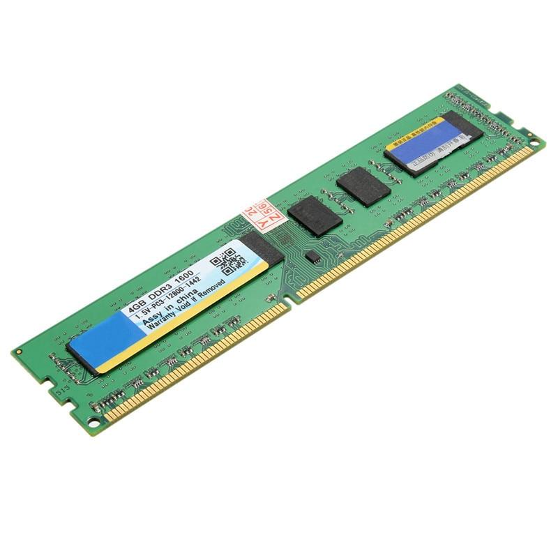 4 gb DDR3 Mémoire RAM 1600 mhz PC3-12800 SDRAM 240 Broches 1.5 v Non-CE Bureau DIMM PC mémoire Ram Haute Compatibilité Pour Système AMD