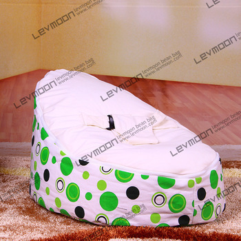 FREE SHIPPING baby seat with 2pcs white up covers baby bean bag chair kid's bean bag seat cover lazy bone bean bag chair domestic beige baby seat and sofa with 2 top covers nice quality baby infant bean bag cheap sale