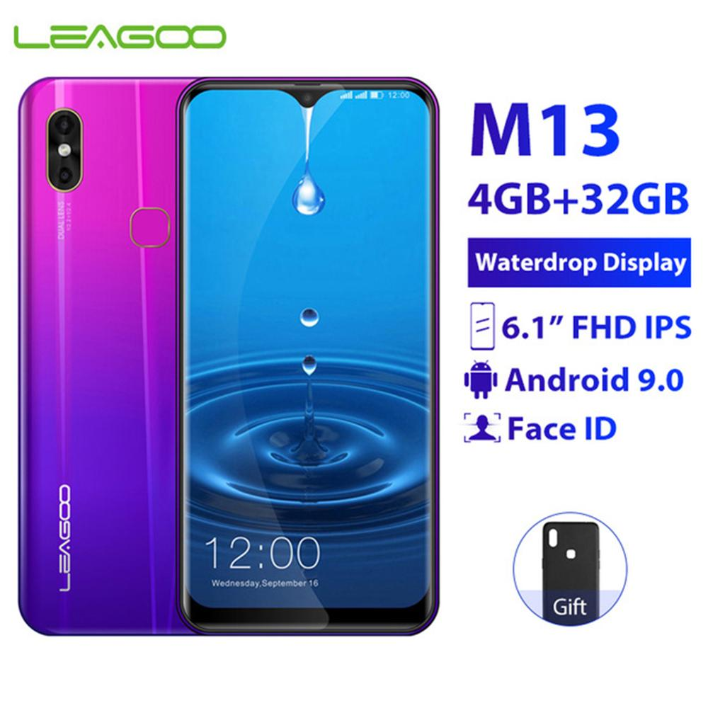 Купить LEAGOO M13 мобильный телефон Android 9,0 4 Гб ОЗУ 32 Гб ПЗУ 6,1