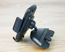 Portable Rotary Car CD Slot Dash GPS Tablet Mobile Phone Mount Stand Holders For BlackBerry Neon