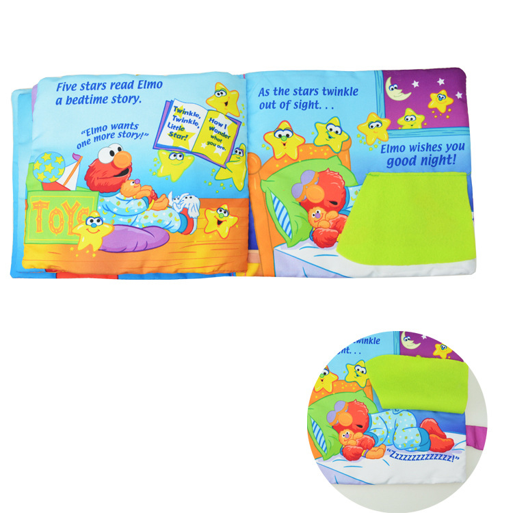 Jollybaby Cloth Book Toys For Children Cloth Book Girls And Boys Colorful Patterns Kids Early Plush Educational Toys Soft Cloth Baby Rattles & Mobiles Toys & Hobbies