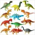 6 unids/set 6 cm dinosaurio PVC figura de acción de juguete juguete educativo para niños de cumpleaños de los niños regalo de navidad envío gratis
